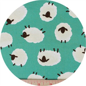 Japanese Import, CANVAS, Sheep Toss Aqua