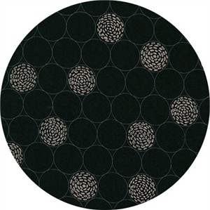 Robert Kaufman, Shimmer 2, Bubbles Black