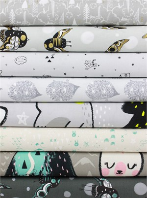 Sarah Watts for Cotton and Steel, Sleep Tight in FAT QUARTERS 7 Total