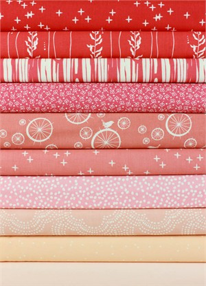 Fabricworm Custom Bundle, Sorbet in FAT QUARTERS 10 Total