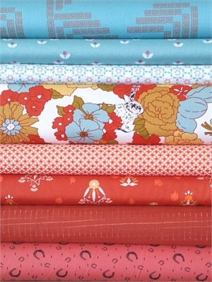 Fabricworm Custom Bundle, Southwest Spring in FAT QUARTERS 8 Total