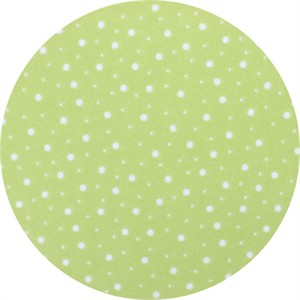 Maywood Studios, FLANNEL, Spotty Dot Lime