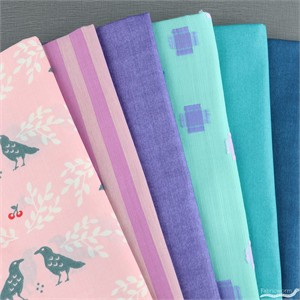 Fabricworm Custom Bundle, Spring Wedding in FAT QUARTERS 6  Total