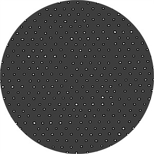 Alicia Jacobs for Ink & Arrow, Square Dot Charcoal