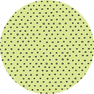 Alicia Jacobs for Ink & Arrow, Square Dot Light Green