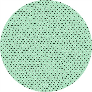 Alicia Jacobs for Ink & Arrow, Square Dot Seafoam