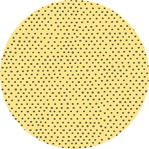 Alicia Jacobs for Ink & Arrow, Square Dot Yellow