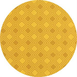 Studio M for Moda, Basic Mixologie Geometrics, Square Gridlock Yellow