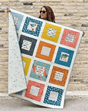 Free Pattern | Squared Quilt | By Suzy Williams