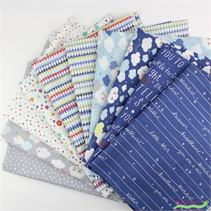 Abi Hall for Moda, Stellar Baby in FAT QUARTERS 8 Total