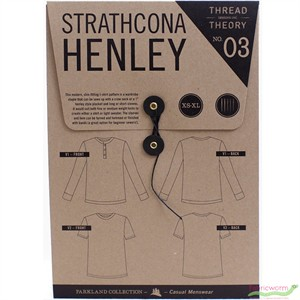 Thread Theory, Sewing Pattern, Strathcona Henley