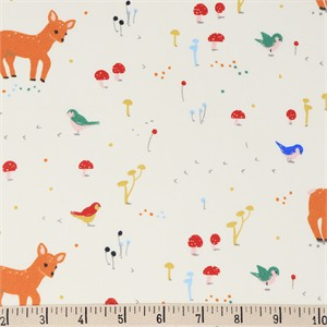 COMING SOON, Jenny Ronen for Birch Organic Fabrics, Whistle, Sunny Forest
