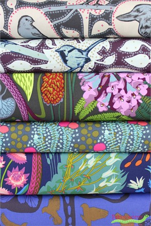 Anna Maria Horner for Free Spirit, Sweet Dreams, Fauna in FAT QUARTERS 5 Total
