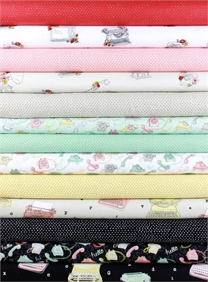 Alicia Jacobs for Ink & Arrow, Talk to Me in FAT QUARTERS 12 Total