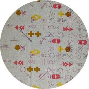 Alison Glass, Adorn TAILORED CLOTH, Symbolic Warm Border Print