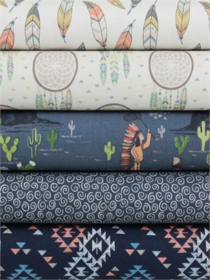 Lewis & Irene, To Catch A Dream, Night in FAT QUARTERS 5 Total