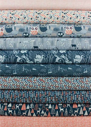 Dear Stella, The Big Chill in FAT QUARTERS 10 Total