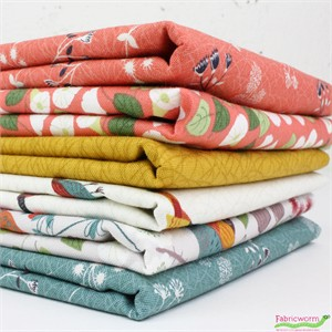 Lewis & Irene, The Hedgerow in FAT QUARTERS 6 Total