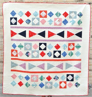 Free Pattern | Through The Looking Glass Quilt | By Suzy Williams
