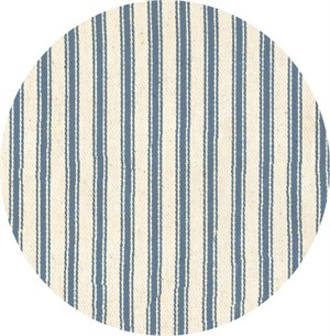 James Thompson & Company, Yarn Dyed Ticking, Denim Blue