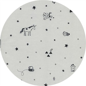 Sarah Watts for Cotton and Steel, Sleep Tight, Tinies Grey