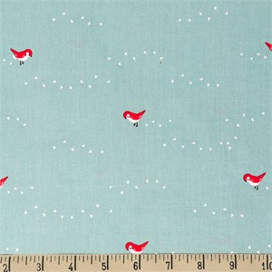 COMING SOON, Jenny Ronen for Birch Organic Fabrics, Whistle, Tiny Steps Blue