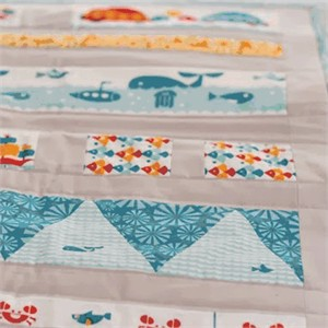 Tutorial: Animals In Love Quilt by Plum and June