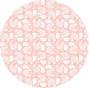 Andrea Turk for Camelot Fabrics, Wild One, Turtles Pink