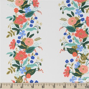 Rifle Paper Co. for Cotton and Steel, English Garden, Vines Cream
