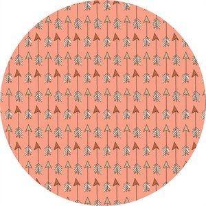 Camelot Fabrics, Wilderness, Arrows Peach