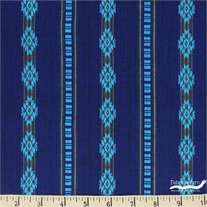 Imported Woven Yarn-Dyes, Durango Dobby, Diamond Navy Teal