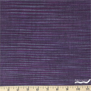 Imported Woven Yarn-Dyes, Winding Ridge, Horizontal Stripe Purple Grey