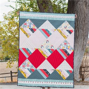 Free Pattern | Waffle Cone Quilt | By Suzy Williams