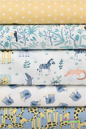 Dear Stella, Welcome to the Jungle in FAT QUARTERS 5 Total