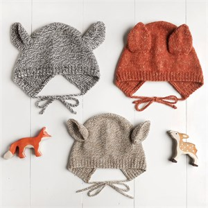 Wiksten, Knitting Pattern, Baby & Toddler Animal Bonnet