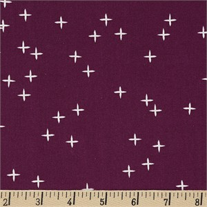 COMING SOON, Birch Organic Fabrics, Mod Basics 3, Wink Dark Plum