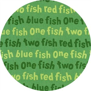 Robert Kaufman, One Fish Two Fish, Wording Green