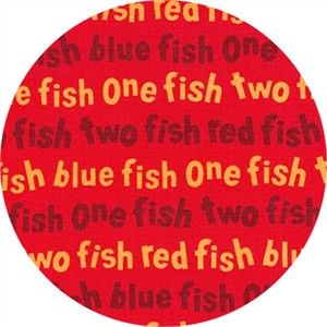 Robert Kaufman, One Fish Two Fish, Wording Red