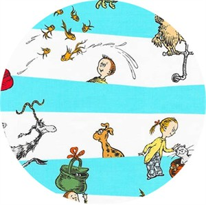 Robert Kaufman, Dr. Seuss What Pet Should I Get?, Stripe Blue