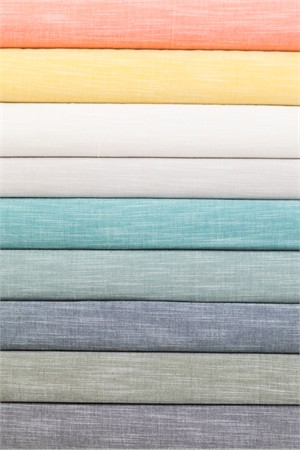 Birch Organic Fabrics, Yarn-Dyed Chambray, WIDE WIDTH in Hankie Squares 10 Total (PRECUT)