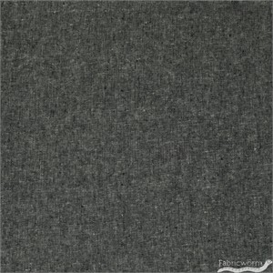 Robert Kaufman, Yarn-Dyed Essex, LINEN, Black