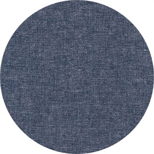 Robert Kaufman, Yarn-Dyed Essex Metallic, LINEN, Midnight