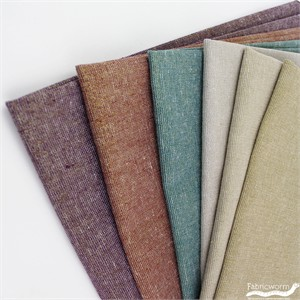 Robert Kaufman, Yarn-Dyed Essex Metallic, LINEN, Shine On 6 Total