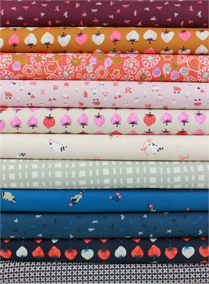 Kimberly Kight for Cotton and Steel, Yours Truly in FAT QUARTERS 10 Total