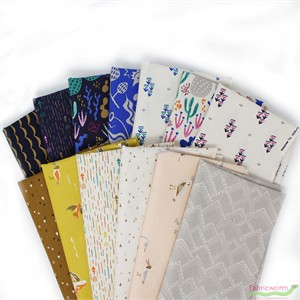 Annie Brady for Moda, Yucatan in FAT QUARTERS 11 Total (PRECUT)