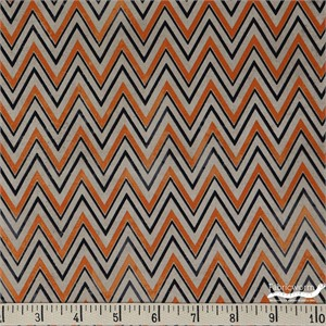 Tim Holtz for Eclectic Elements, Materialize, Zigzag Orange